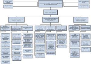 O πράγματι πιο συνεκτικός Οργανισμός του ΥπΔιΜΗΔ (χωρίς όμως αναφορά σε ΕΥΔ και ΚτΠ ή/και επιτελική δομή)